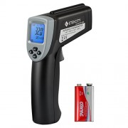 Etekcity Lasergrip 630 Dual Laser Digital Infrared Thermometer -58℉~1076℉ (-50℃ to 580℃) Non-contact Temperature Gun with Adjustable Emissivity & MAX/MIN/AVG Display