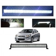 Trigcars Hyundai Verna Fludic Bar Light Fog Light 22Inch 120 Watt