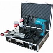 MAKITA Perfo-burineur Makita HR2470 TX1 SDS-Plus 780 W + Accessoires