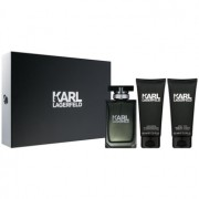 Karl Lagerfeld Karl Lagerfeld for Him coffret I. Eau de Toilette 100 ml + bálsamo after shave 100 ml + gel de duche 100 ml