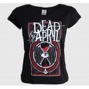 tricou stil metal femei Dead By April - Butterfly - CARTON - KD_609