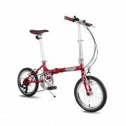 Bicicleta Pegas Teoretic 7S pliabil Rosu Mat