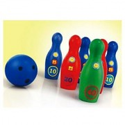 Bowling Set 6 Bowling Pins 2 Balls Party Toy For Kids - Big Size