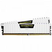 CORSAIR Vengeance LPX 32GB 2x16GB DDR4 DRAM 3000MHz C15 Memory Kit White CMK32GX4M2B3000C15W