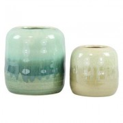Hoff Interieur Vasen Emerald 2-tlg