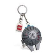 "Millennium Falcon Bag Charm - LEGO Star Wars (2 1/2"")"