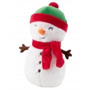 Grabadeal 15 Inch Christmas Gift White Snowman Teddy Bear