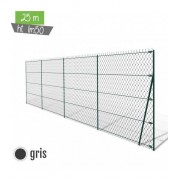 Kit simple torsion ht 1m50 GRIS 25ML - Hauteur - Ht 1m75