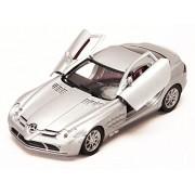 Motor Max Mercedes Benz SLR McLaren, Silver - Motormax 73306 1/24 Scale Diecast Model Toy Car