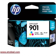 HP 901 Color Inkjet Cartridge CC656AA
