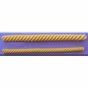 Mulaj Silicon Snururi Spiralate, L 18 cm