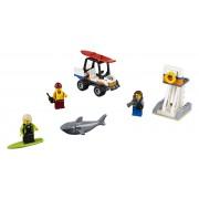 60163 LEGO® City Set pentru începători Garda de coastă