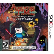 Adventure Time Explore The Dungeon Because I Dont Know 3DS