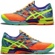 Asics Gel-Noosa Tri 10 Women Running Shoes(Yellow, Blue)