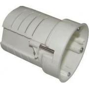 Prelungire pentru doze, reglare al adâncimii, alb - H=40-85mm,D=70mm UDT60 - Tracon
