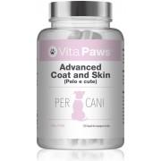 Simply Supplements Advanced Coat and Skin (Pelo e cute) - 120 Capsule facili da aggiungere al cibo