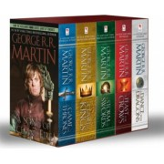 Game of Thrones 5-Copy Boxed Set George R. R. Martin Song of Ice and Fire Series A Game of Thrones a Clash of Kings a Storm of Swords a