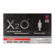 X2O Dual Coils 1,6 ohm 5-pack