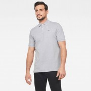 G-star RAW Hommes Dunda Polo Gris