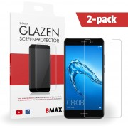 2-pack BMAX Huawei P8 Lite (2017) Glazen Screenprotector Beschermglas Tempered Glass