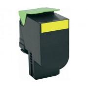 Neutral passend für Lexmark 80C2HY0 802HY Toner-Kit gelb return program, 3.000 Seiten für Lexmark CX 410/Lexmark CX 510 für CX 410 dte