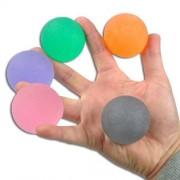 Homecraft Balle d'exercice pour la main - Lot complet 5 balles - Lot de 3