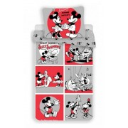 Disney Minnie és Mickey ágyneműhuzat music 140x200cm 70x90cm