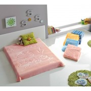 Patura copii moale Broscuta - Culoare Roz