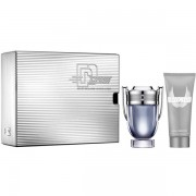 Paco Rabanne Invictus Комплект (EDT 100ml + Shower Gel 100ml) за Мъже