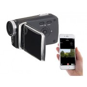 "Full-HD-Camcorder mit 7,6-cm-Touch-Display (3""), WLAN, App-Steuerung 