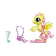 Jucarie My Little Pony The Movie Glitter & Style Seapony Fluttershy