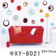 TipTop Wall Sticker Colorized cirklar Designs
