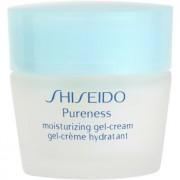 Shiseido Pureness crema hidratante con textura de gel para pieles normales y mixtas 40 ml
