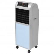 vidaXL Въздушен охладител 120 W 8 л 385 м ³ / ч 37,5x35x94,5 см
