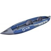 jilong 37330 Kayak Mare Canoa Gonfiabile In Pvc 2 Posti Dimensioni 400 X 90 Cm Con Remo Da 221 Cm E Pompa A Piede - 37330 Z-Ray Tortuga
