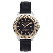 Rip Curl The Heritage Collection Midsize Heat Bezel Watch Black