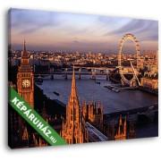 Londoni látkép (35x25 cm, Vászonkép )