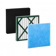 Juego de filtros para soldadura - HEPA - vellón - carbono