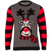 Merkloos Kersttrui Rudy Reindeer voor dames