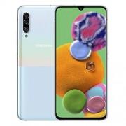 Samsung Galaxy A90 (5G) 128 GB/6 GB RAM SM-A908B (sólo GSM, sin CDMA) Smartphone Android desbloqueado de fábrica Versión internacional, Blanco