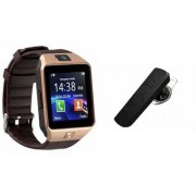 Mirza DZ09 Smartwatch and HM1100 Bluetooth Headphone for SONY xperia arc s(DZ09 Smart Watch With 4G Sim Card Memory Card| HM1100 Bluetooth Headphone)