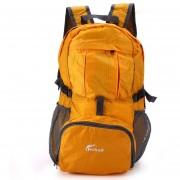 Senderismo Mochila Bolsa De Hombro Plegable Hiking Backpack Folding Shoulder Bag, Hohxil-Naranja