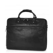 Castelijn & Beerens Crossbodytas Firenze Laptop Bag 17 inch Zwart