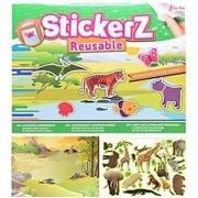 Geen Kinderkamer raamstickers wilde dieren