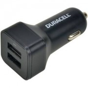 Duracell In Car 3.4A shared Dual USB Charger (DR5035A)
