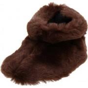 Acorn Toddler Tex Easy Bootie Slipper,Brown Bear,TM (6-12 Months M US Infant)