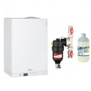 Centrala termica Viessmann Vitodens 111 W 35 kW cu filtru antimagnetita Cleanex HF1