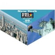 50-Piece Double 2-Sided Jigsaw Puzzle In Triangular Box - New York City [Toy] by DBL PZL