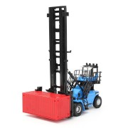 1/50 Diecast Empty Container Stacker Forklift Truck Car Model Kids Toy