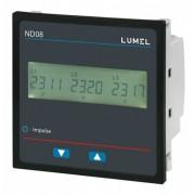 Analizor retea electrica LUMEL ND08, masurare parametri retele trifazate, iesire in releu, Modbus, interfata RS485